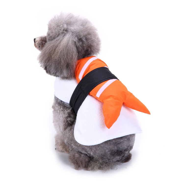 Christmas/Halloween Sushi Janpaness-Style Pet Dog Puppy Costume