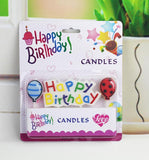 Happy Birthday With Balloons Cake Decoration Candles
