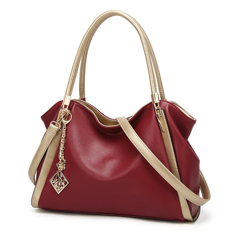 Women's Top-Handle Handbags, Shoulder Bag and Soft Leather Crossbody Bags Tote Purse