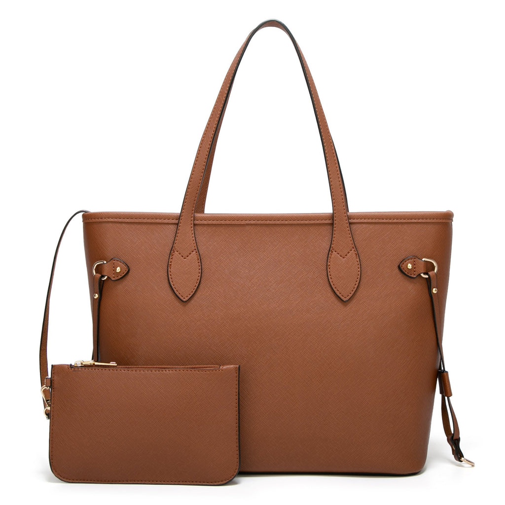 Designer Leather Tote Bags Set for women, Fashion PU Tote Handbags Purse, Top Handle Shoulder Bags