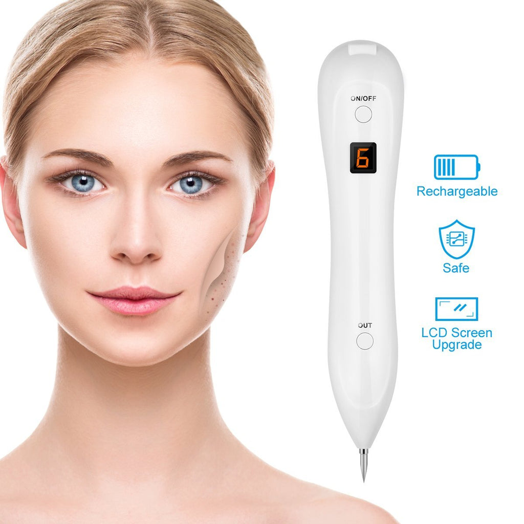 Mole Removal Pen USB Charging Beauty Pen for Removing Mole Freckles Spot Nevus Tattoo Dot