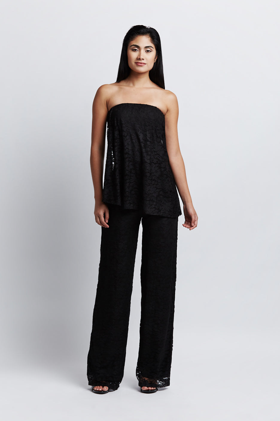 Ala Jumpsuit Black Lace