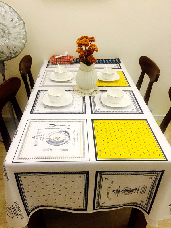... Modern Table Cloth Muti Size Available