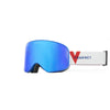 VUARNET SKI GOGGLES  METALIZED BLUE