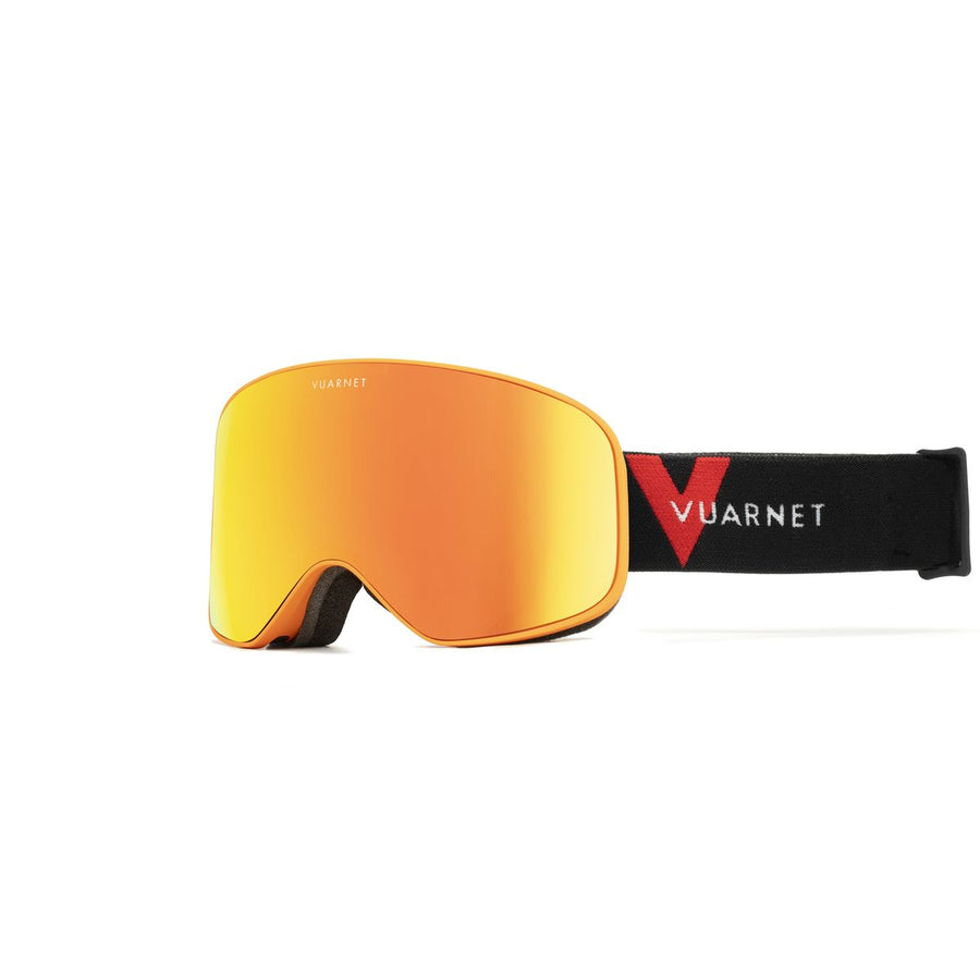 VUARNET SKI GOGGLES 2020 ORANGE MATT RED OS