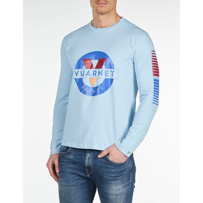 MEN'S LONG SLEEVE T-SHIRT Vuarnet  497 ARTIC BLUE XXL  MEN  TOPS