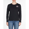 WOMEN'S LONG SLEEVE T-SHIRT Vuarnet  001 Black XS  WOMEN  TOPS