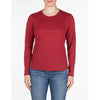 WOMEN'S LONG SLEEVE T-SHIRT Vuarnet  648 BORDEAUX XS  WOMEN  TOPS