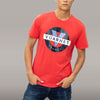 MEN'S SSL T-SHIRT WITH CLASSIC LOGO - 671 TOMATO
