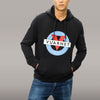 MEN'S HOODIE WITH CLASSIC LOGO - 001 Black