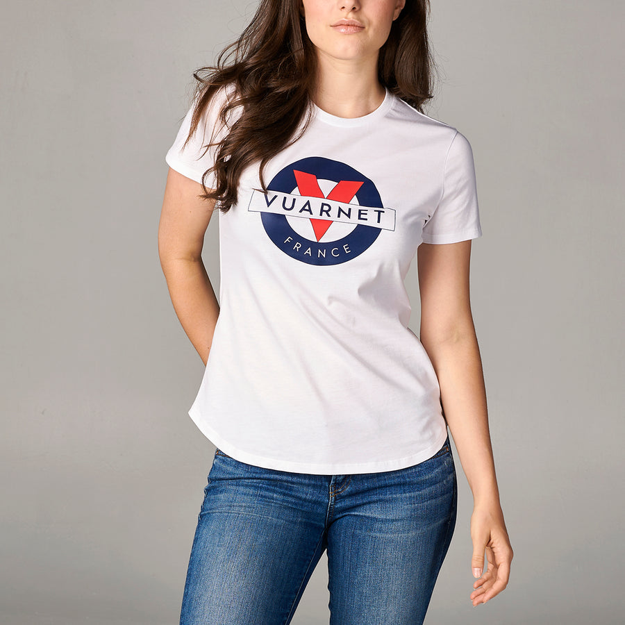 WOMEN'S T-SHIRT WITH CLASSIC LOGO