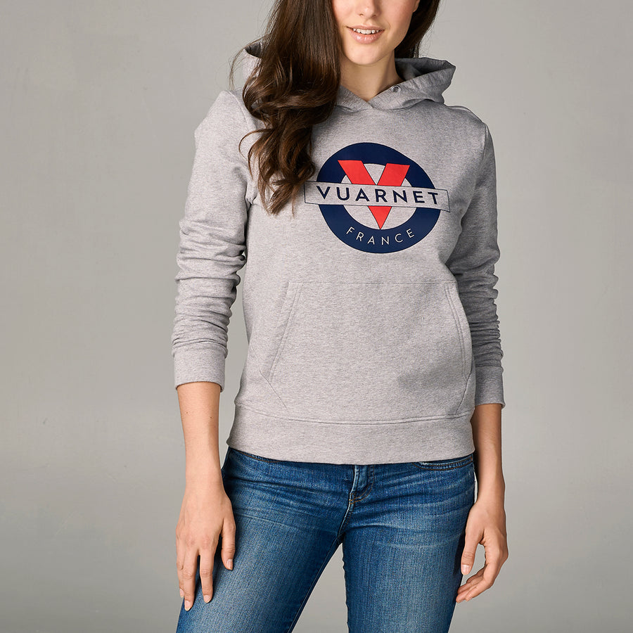 WOMEN'S HOODIE WITH CLASSIC LOGO