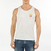 MEN'S TANK VUARNET, 102 WHITE XXL  MENS