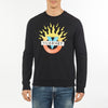 MEN'S SWEAT CREW NECK VUARNET, 001 Black XXL  MENS