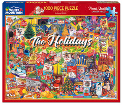 The Holidays James Mellett Puzzle Key