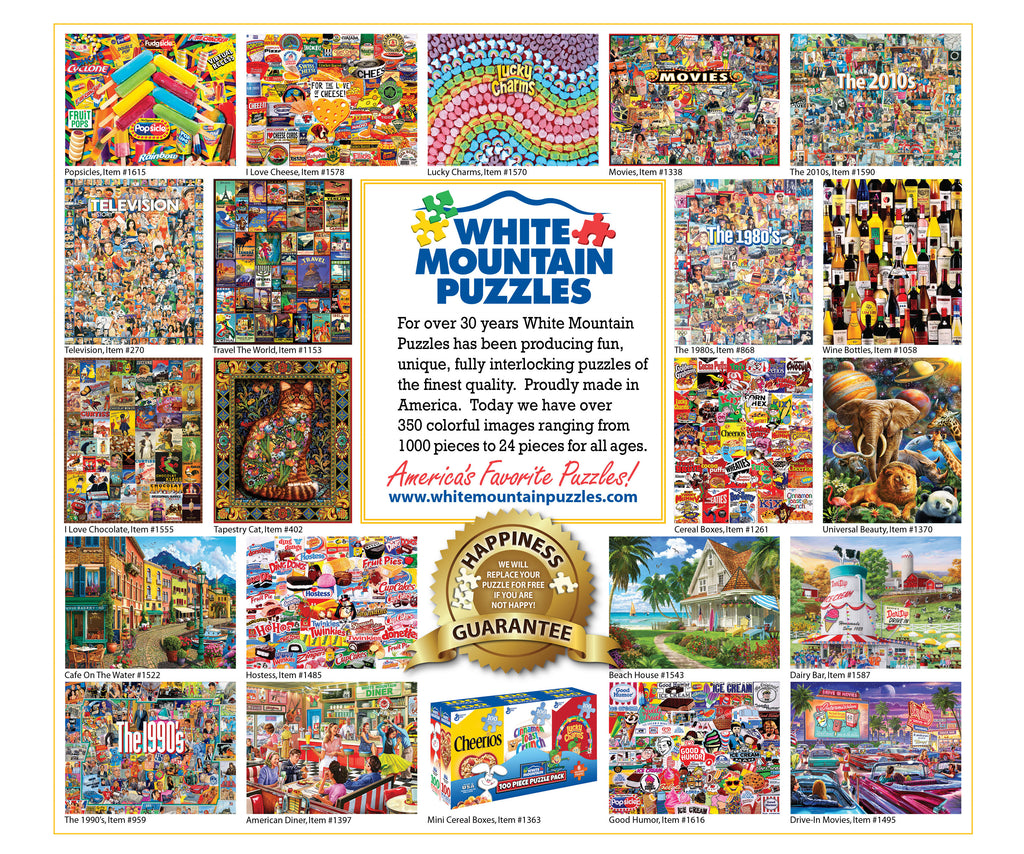 Barn Quilts (1470pz) - 1000 Piece Jigsaw Puzzle