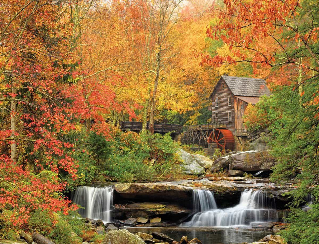 Old Grist Mill (1040pz) - 1000 Piece Jigsaw Puzzle
