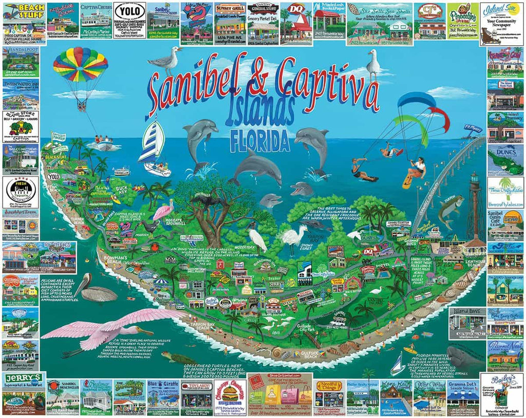 Sanibel & Captiva Islands - 1000 Pieces