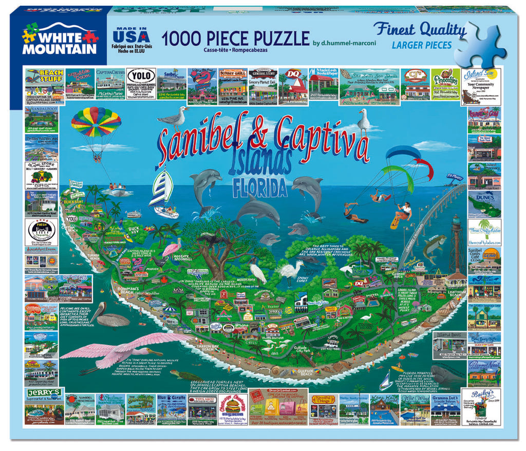 Sanibel & Captiva Islands (1042pz) - 1000 Piece Jigsaw Puzzle