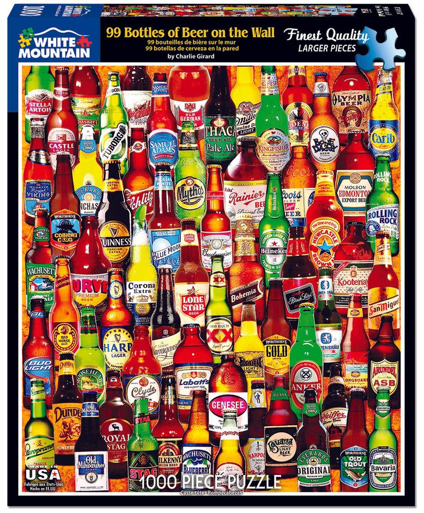 99 Bottles of Beer on the Wall (1047pz) - 1000 Piece Jigsaw Puzzle