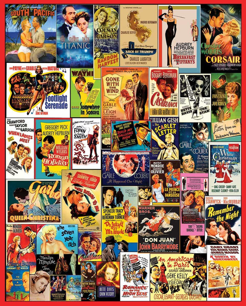 Movie Posters - 1000 Pieces
