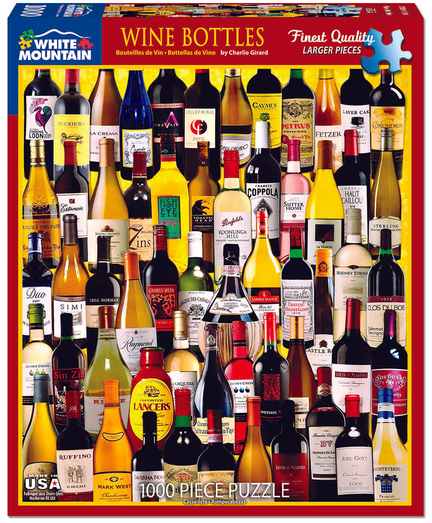 Wine Bottles (1058pz) - 1000 Piece Puzzle
