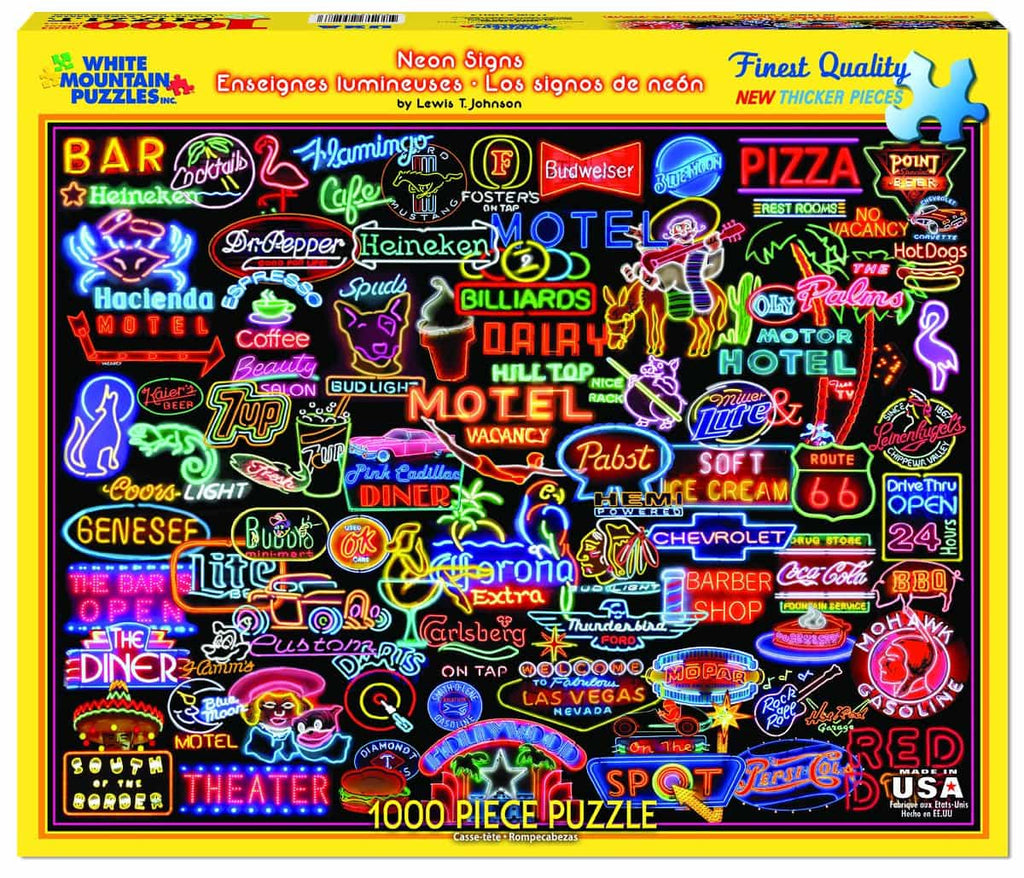 Neon Signs - 1000 Pieces