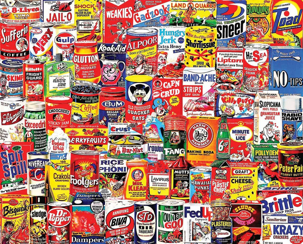 Wacky Packages (1065pz) - 1000 Piece Jigsaw Puzzle