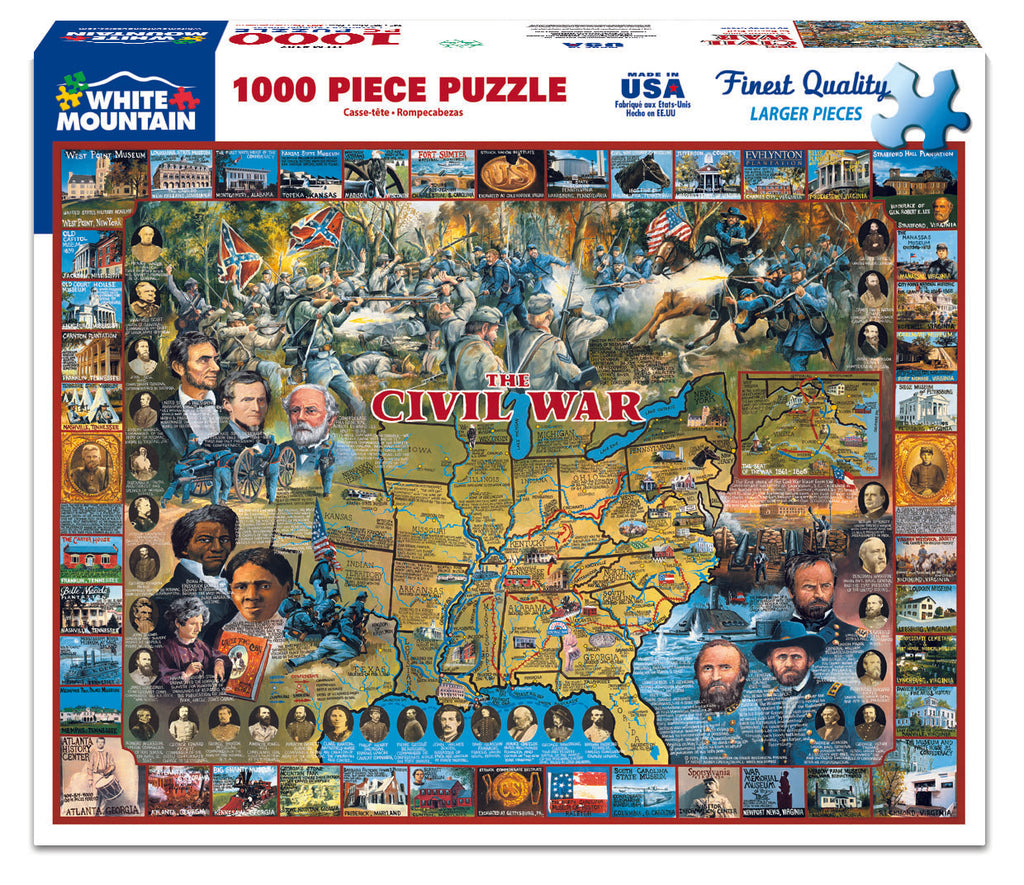 Civil War (107PZ) - 1000 Piece Jigsaw Puzzle
