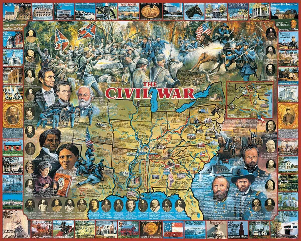 Civil War (107PZ) - 1000 Pieces