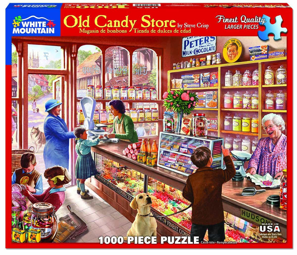Old Candy Store (1083pz) - 1000 Pieces