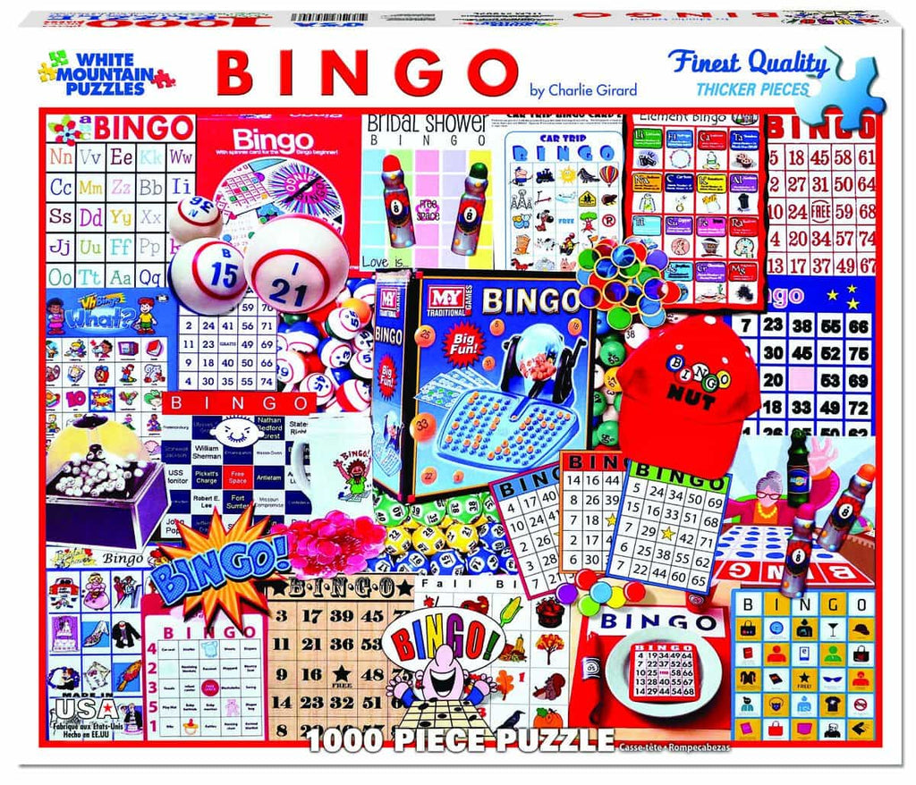 Bingo - 1000 Pieces  - DISC