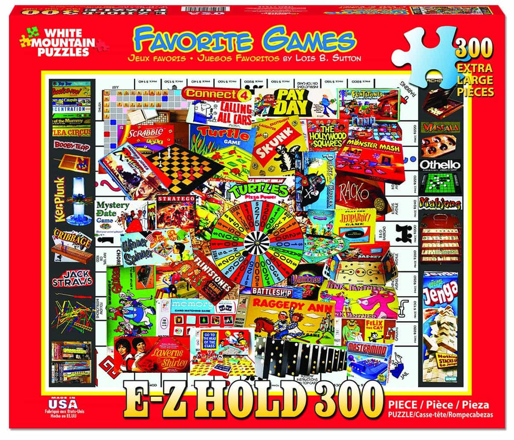 Favorite Games - 300 Pieces