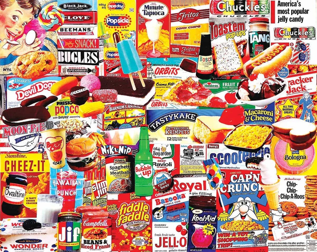 Things I Ate As A Kid - 1000 Pieces