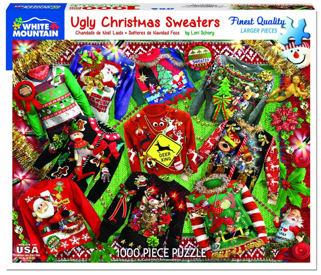 Ugly Sweaters - 1000 Pieces