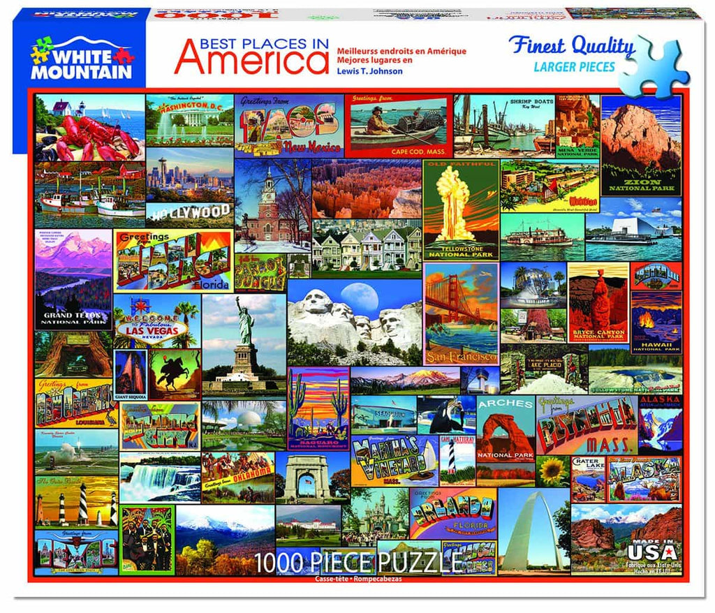 Best Places in America - 1000 Pieces