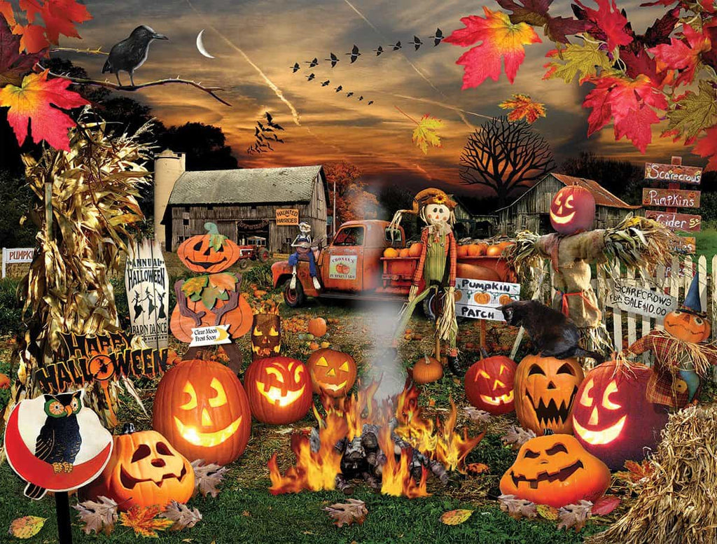 Jack O Lanterns - 1000 Pieces