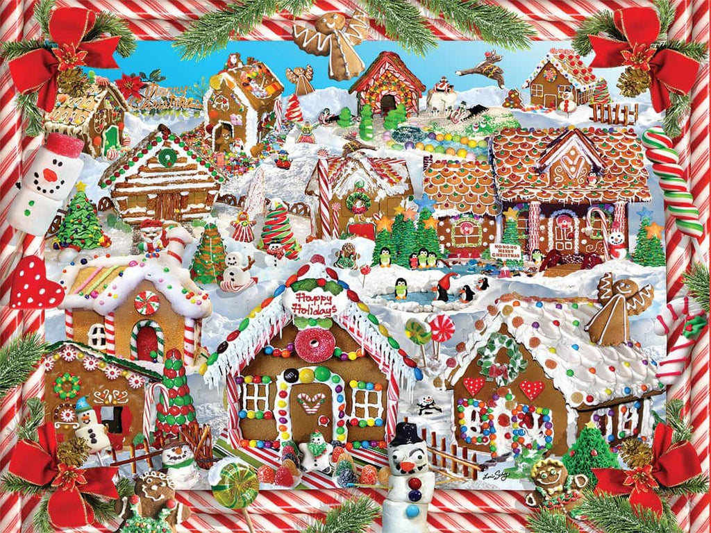 Gingerbread Village - 1000 Pieces