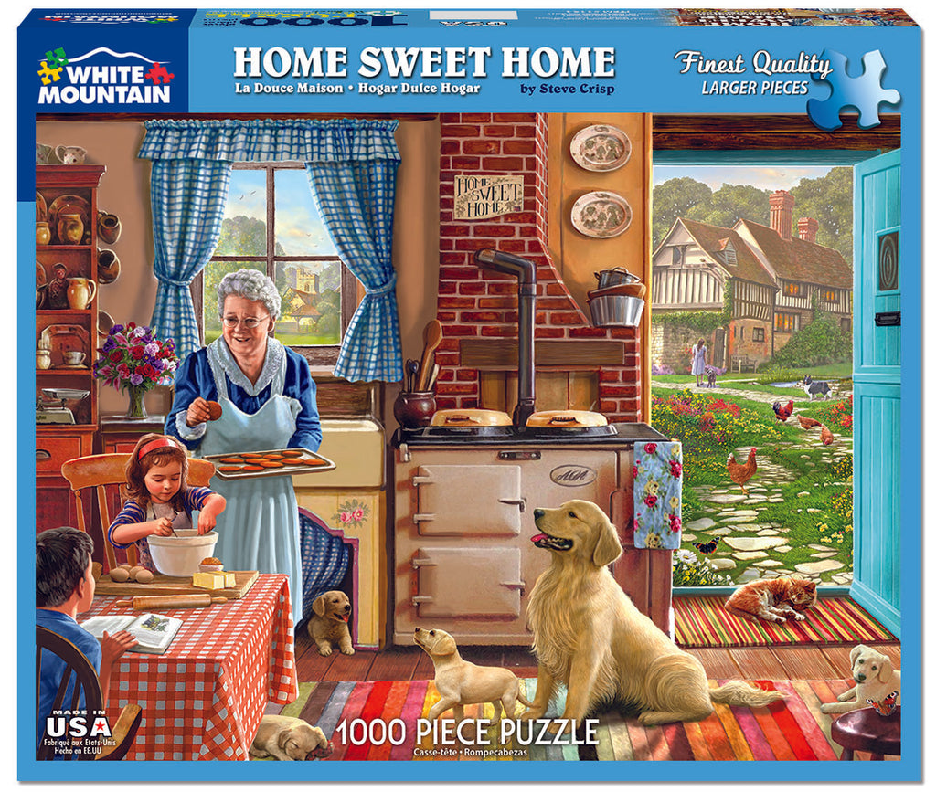 Home Sweet Home (1134pz) - 1000 Piece Jigsaw Puzzle