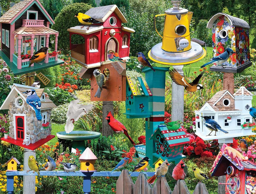 Birdhouse Village (1137PZ) - 550 Pieces