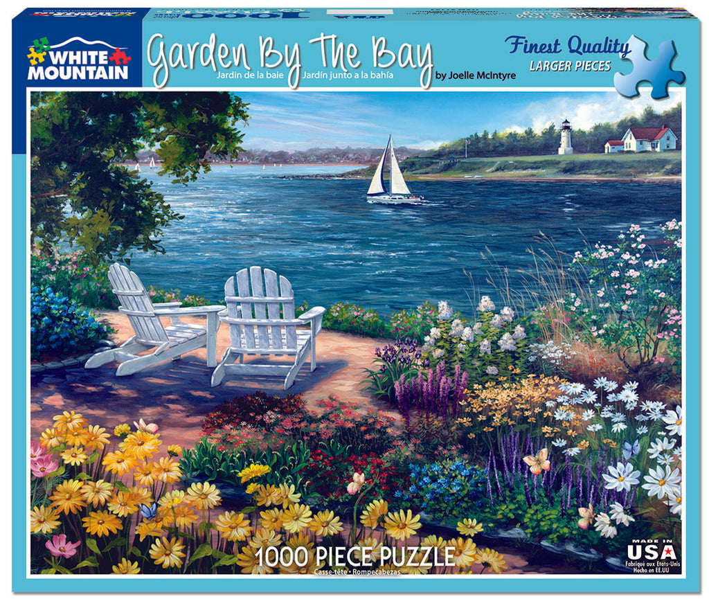 Garden by the Bay (1143pz) - 1000 Piece Jigsaw Puzzle