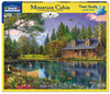 Mountain Cabin (1147pz) - 1000 Piece Jigsaw Puzzle