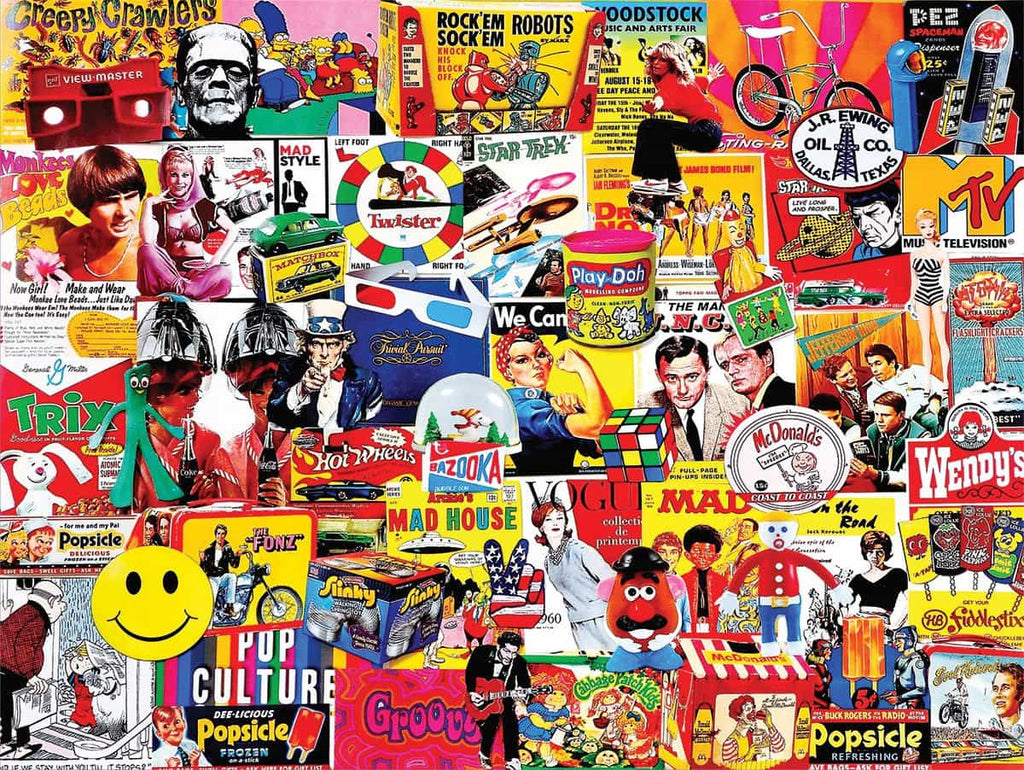 Pop Culture (1148pz) - 1000 Piece Jigsaw Puzzle
