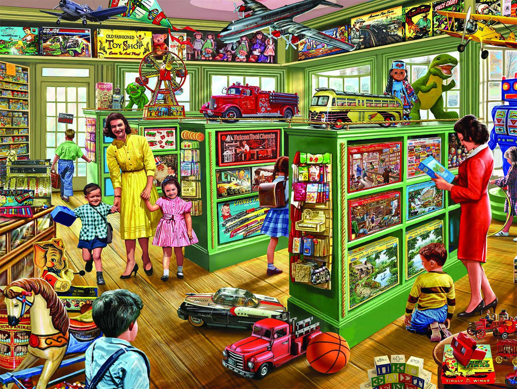 The Toy Store (1152pz) - 1000 Piece Jigsaw Puzzle