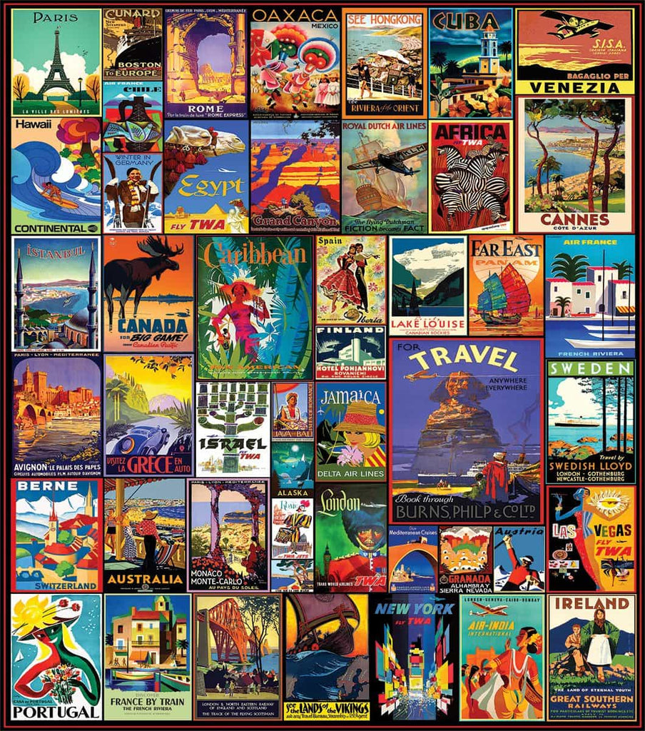 Travel The World (1153PZ) - 500 Piece Jigsaw Puzzle