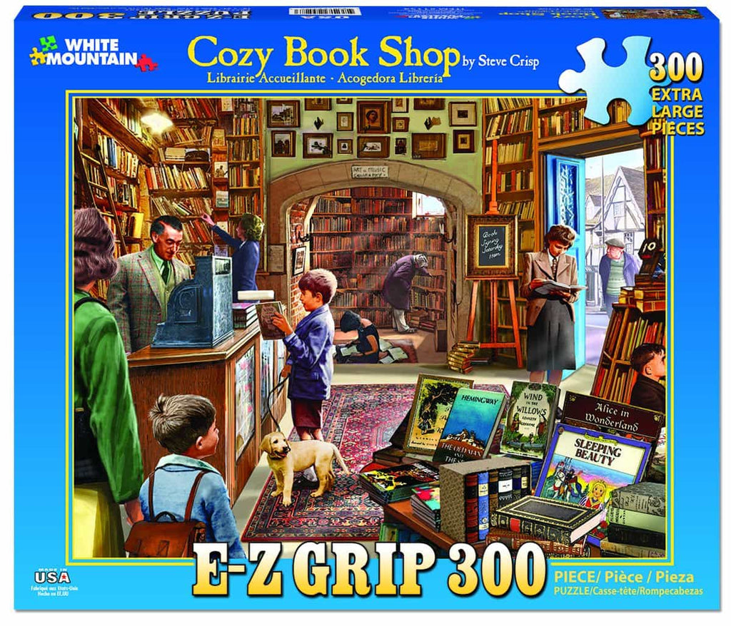 Cozy Book Shop - 300 Pieces