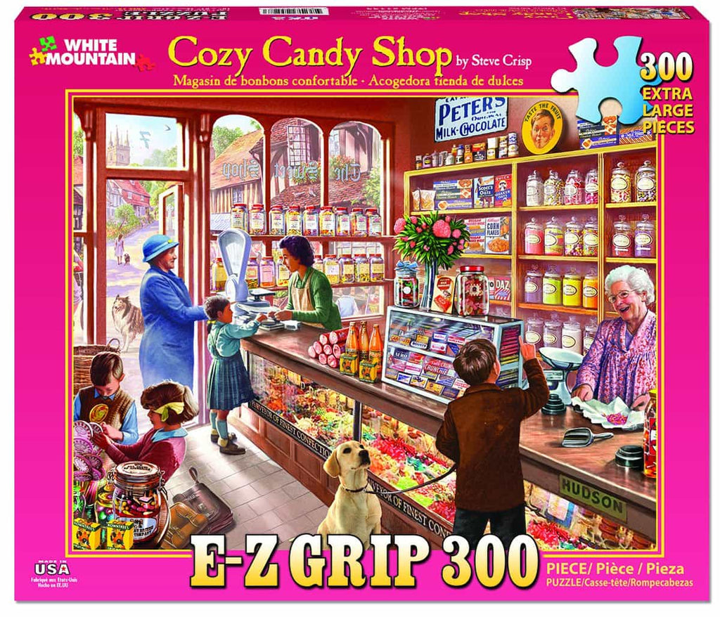Cozy Candy Shop - 300 Pieces