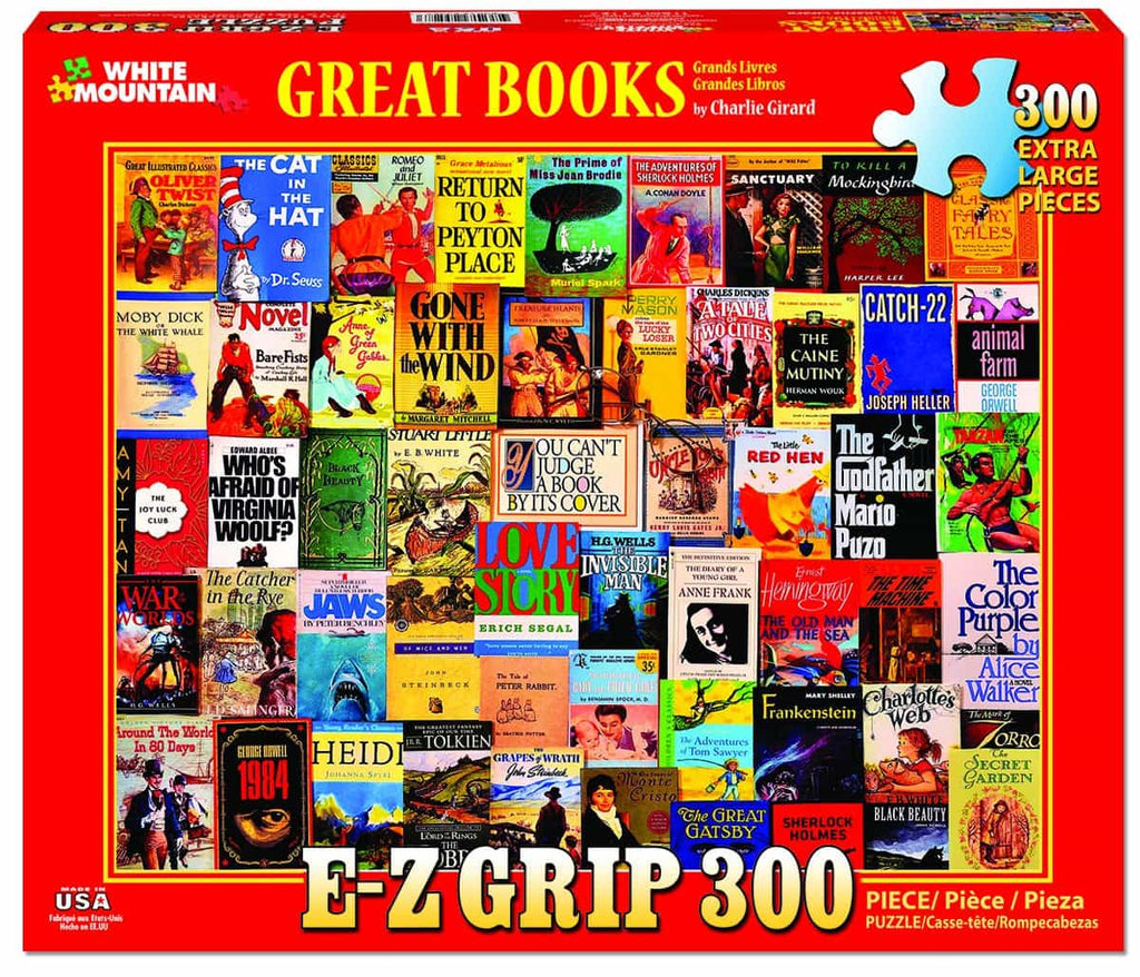 Great Books (1157pz) - 300 Piece Jigsaw Puzzle