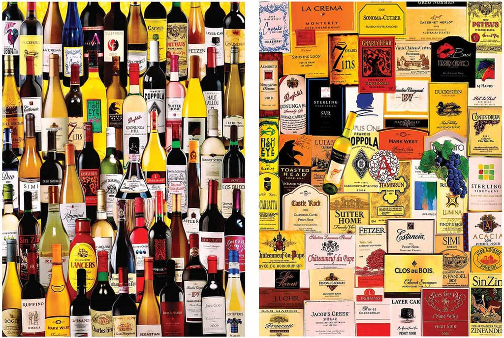 For The Love Of Wine (1165pz) - 1000 Piece Jigsaw Puzzle for Adults