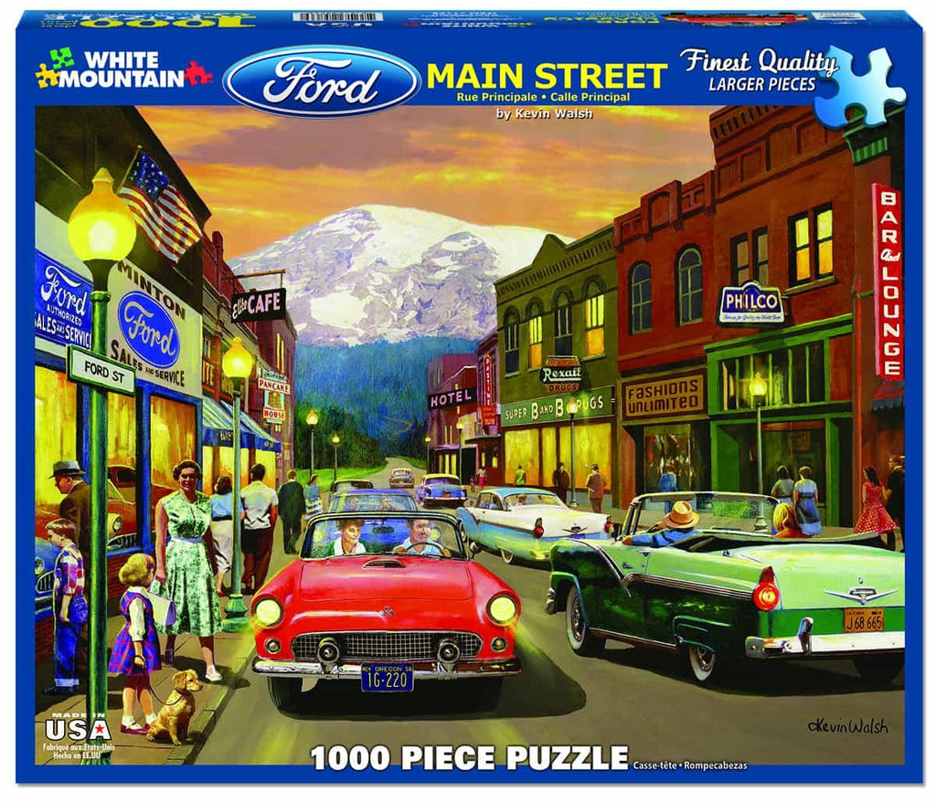 Main Street - 1000 Pieces - DISC